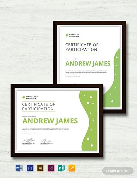 sport certificate