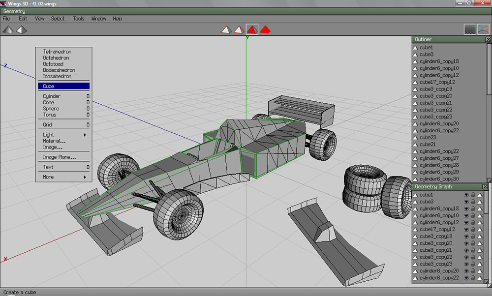 Free 19 best 3d modeling software tools examples for Software 3d gratis