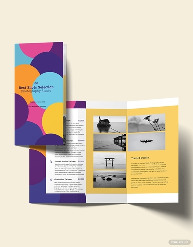 photography business brochure