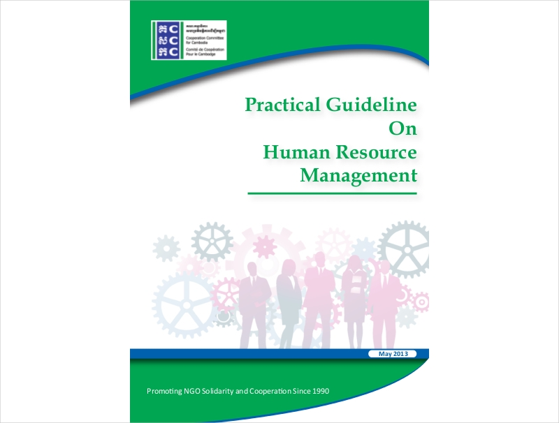 sample human resource guideline