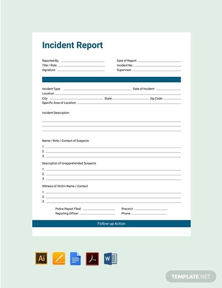 free 42  incident report examples  u0026 samples in pdf