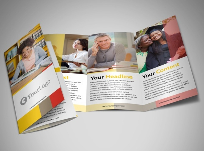 adult education brochure
