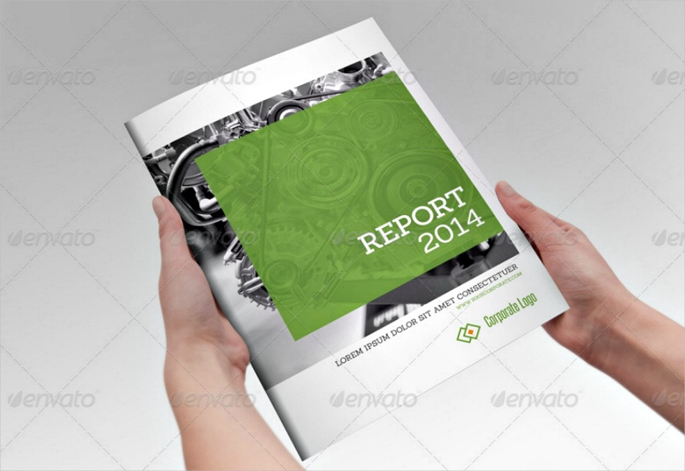 annual report indesign brochure