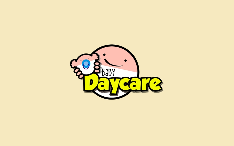 baby daycare logo