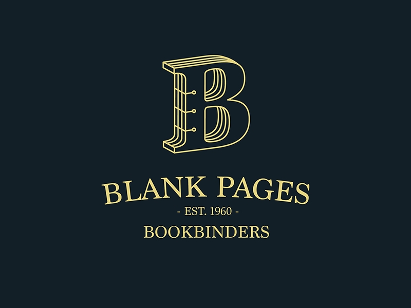 Blank Pages Logo Design