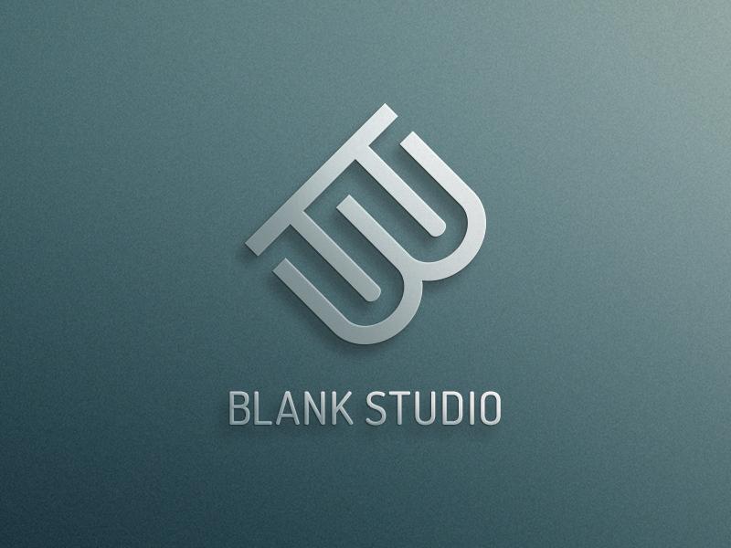 blank studio logo