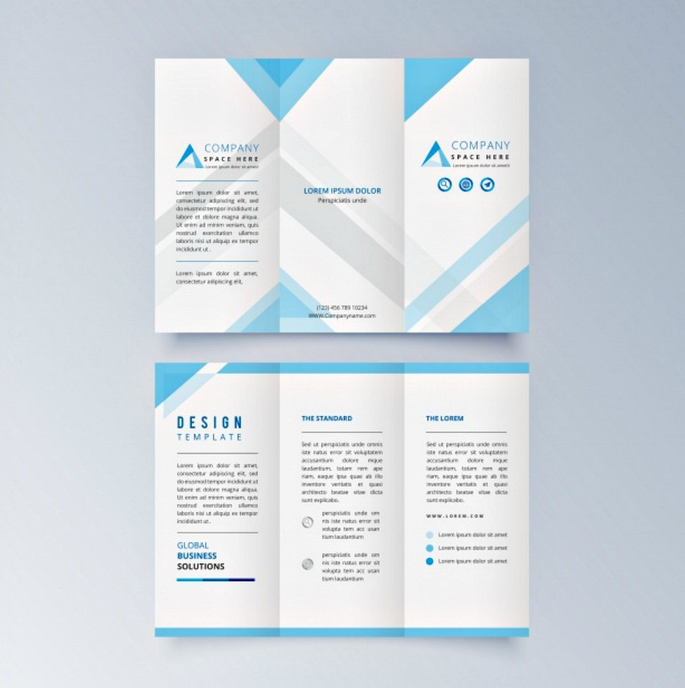 25 free brochure design examples for Typography brochure design