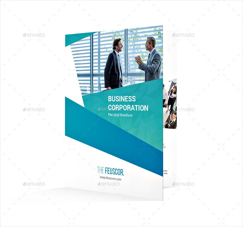 business corporation bi fold brochure