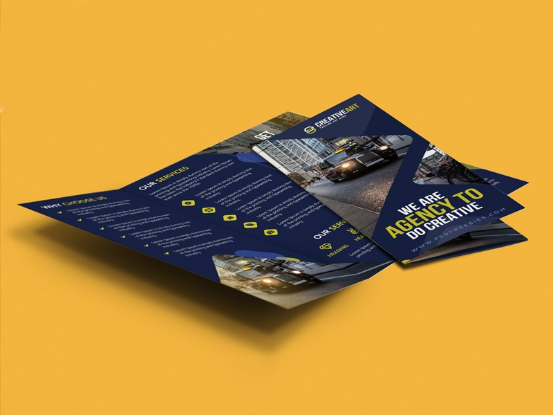 business psd brochure design