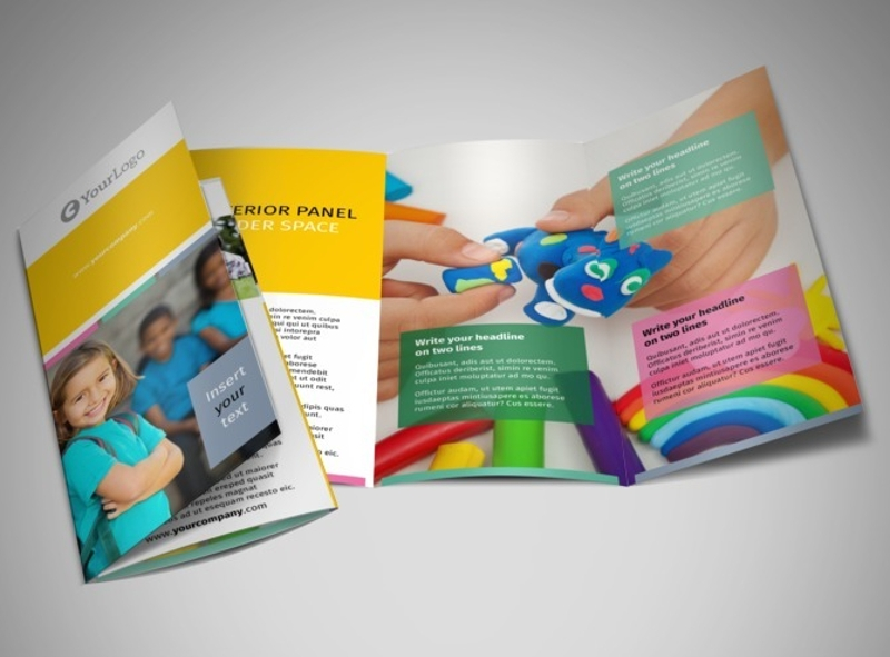 child education brochure
