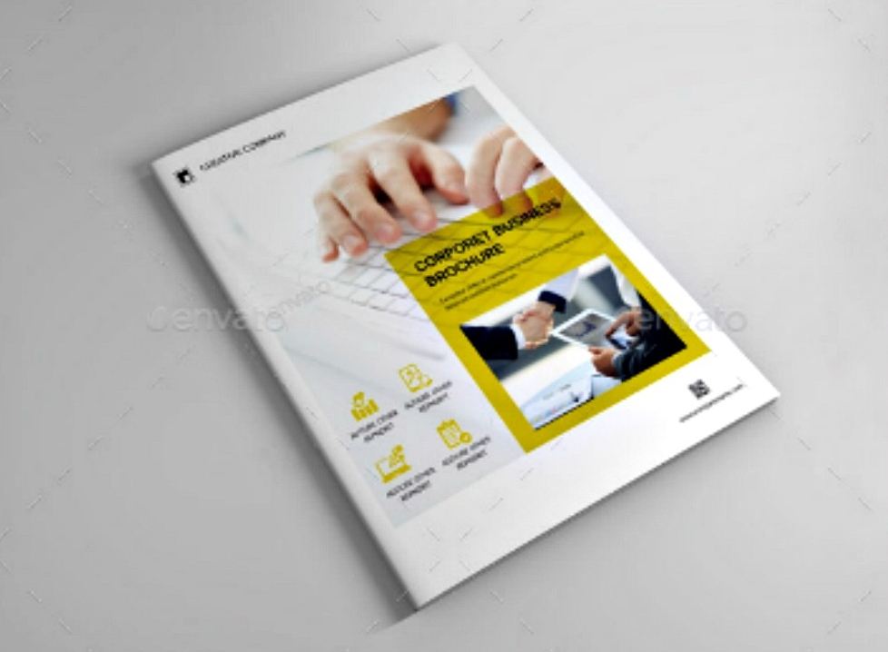 corporate business indesign brochure