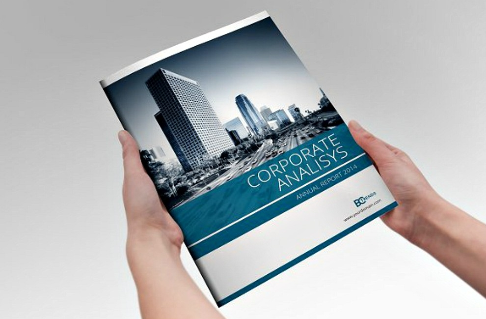 corporate indesign template
