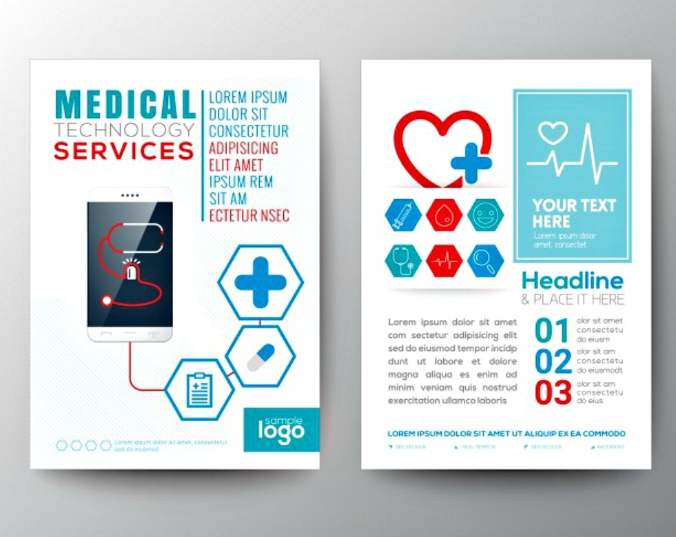 creative medical brochure template
