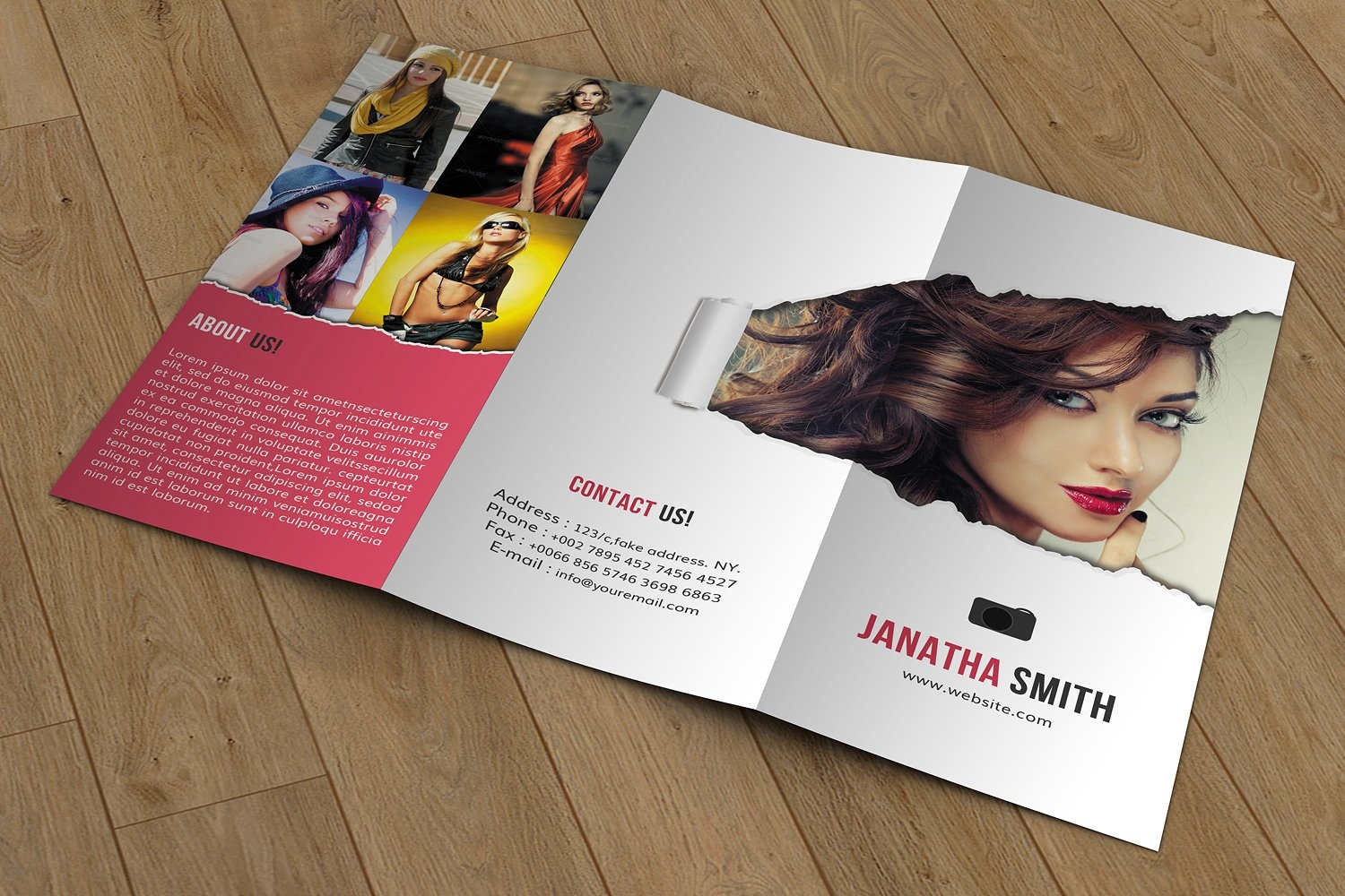creative photography brochure