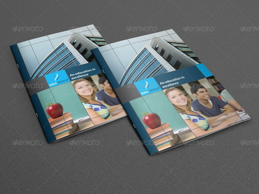 education indesign brochure