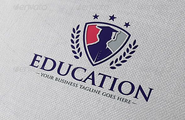 15 best examples of education logos vector eps ai png format