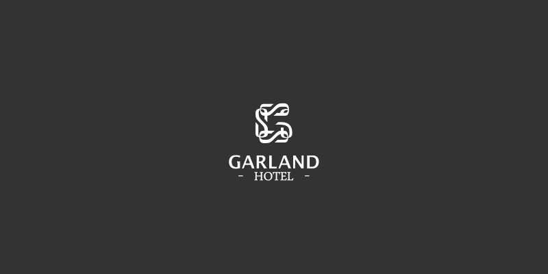 garland hotel logo