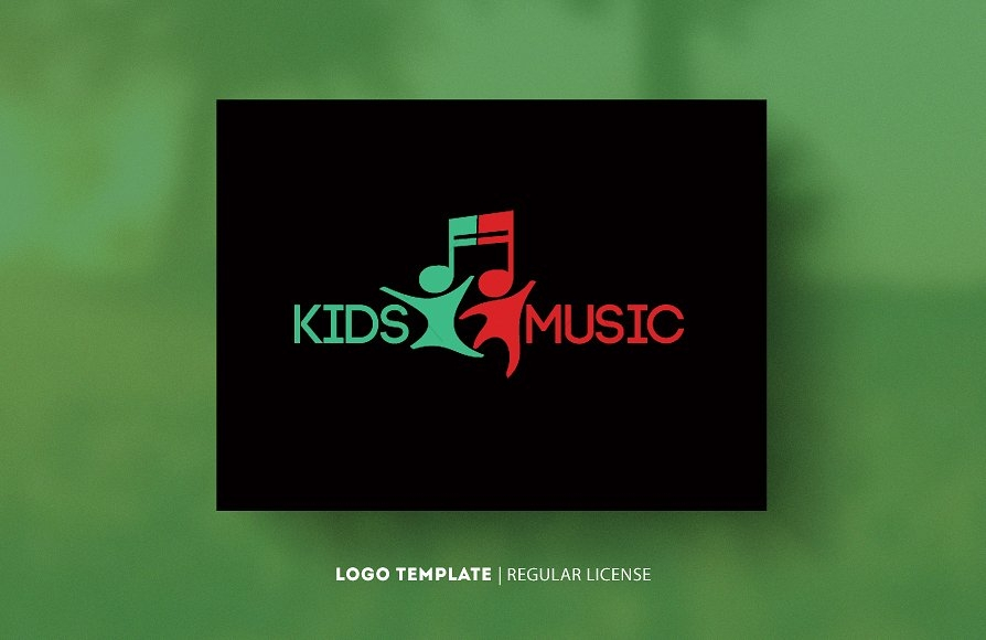 Kids Music Logo