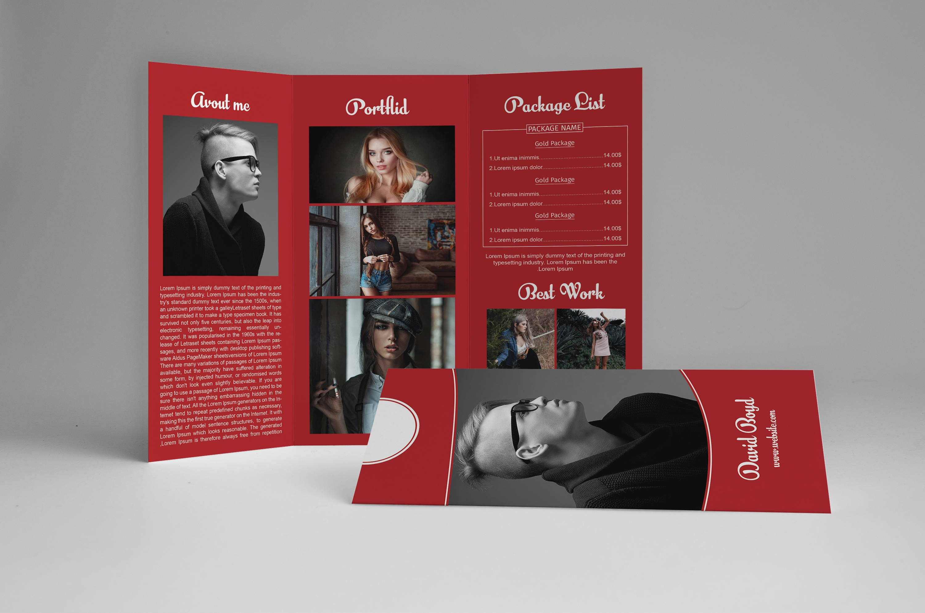 marketing photography brochure