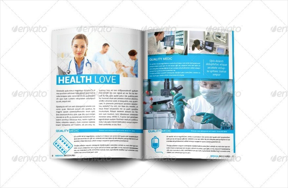 medical health brochure