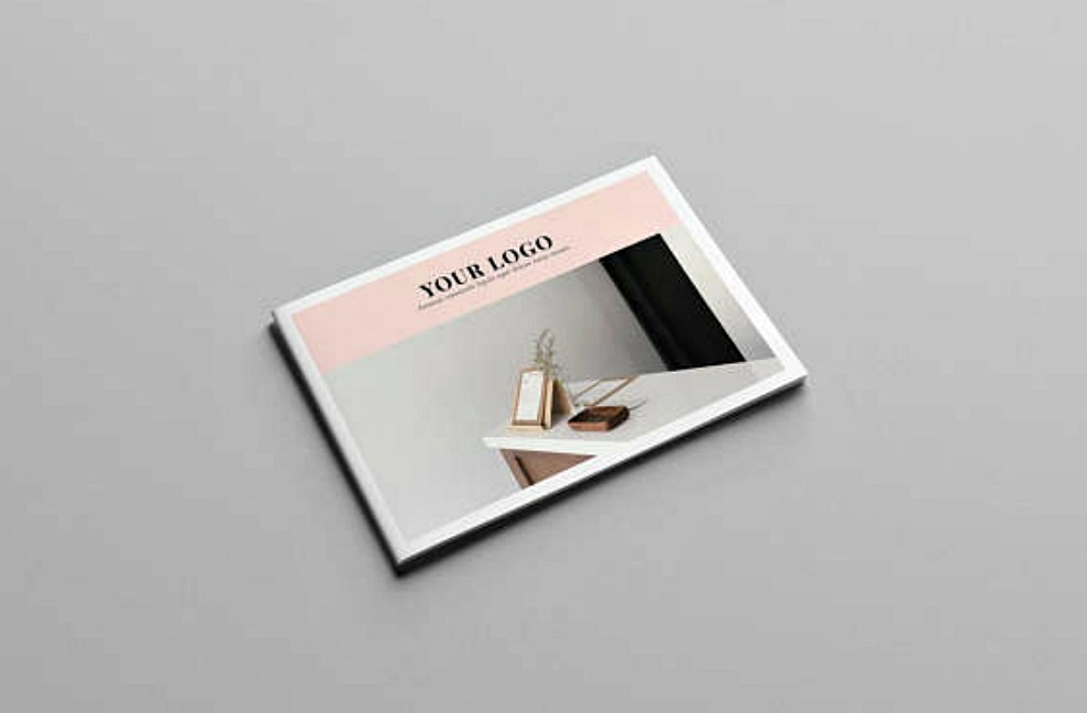 minimal indesign brochure template