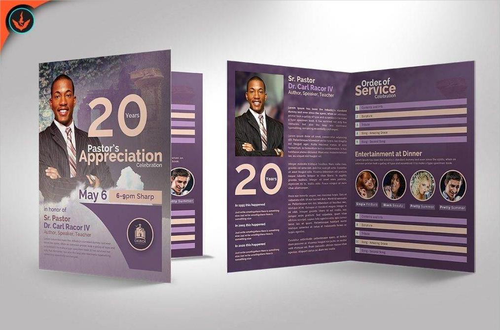 modern nonprofit brochure