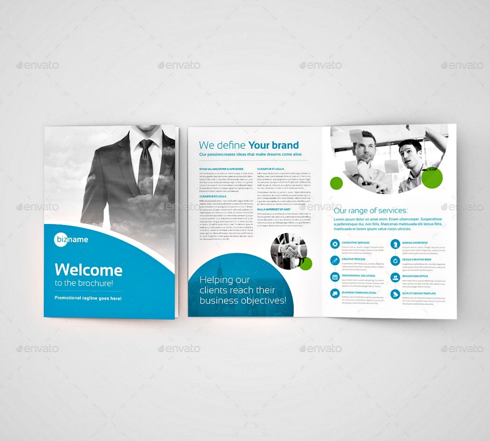 Professional Business Bi Fold Brochure