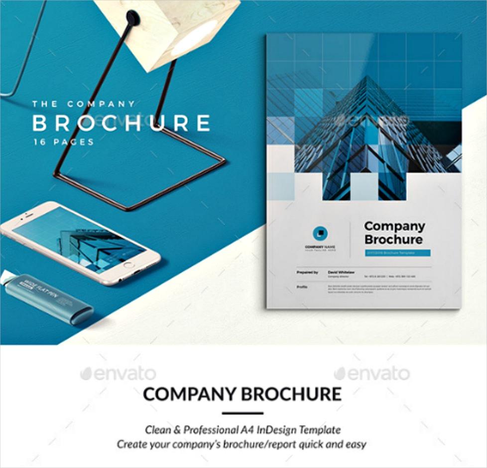 professional company brochure