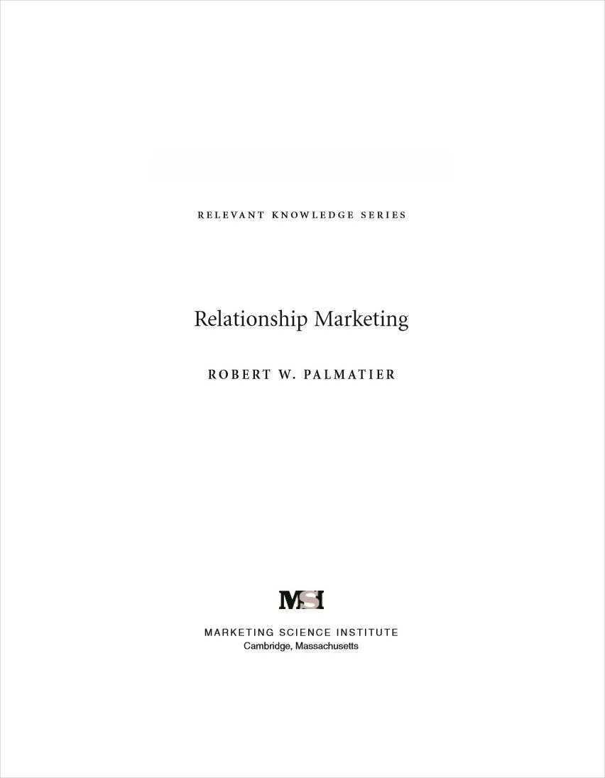 relationship marketing1