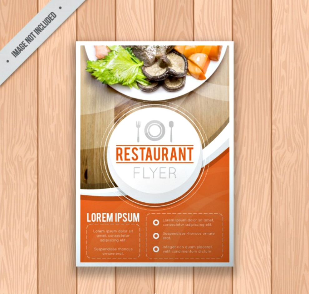 restaurant brochure template1
