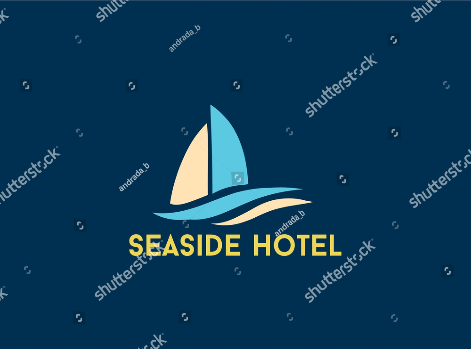 seaside hotel logo