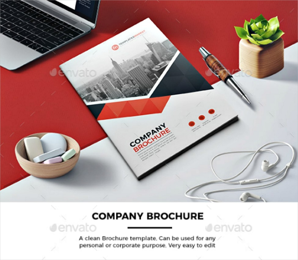software company brochure