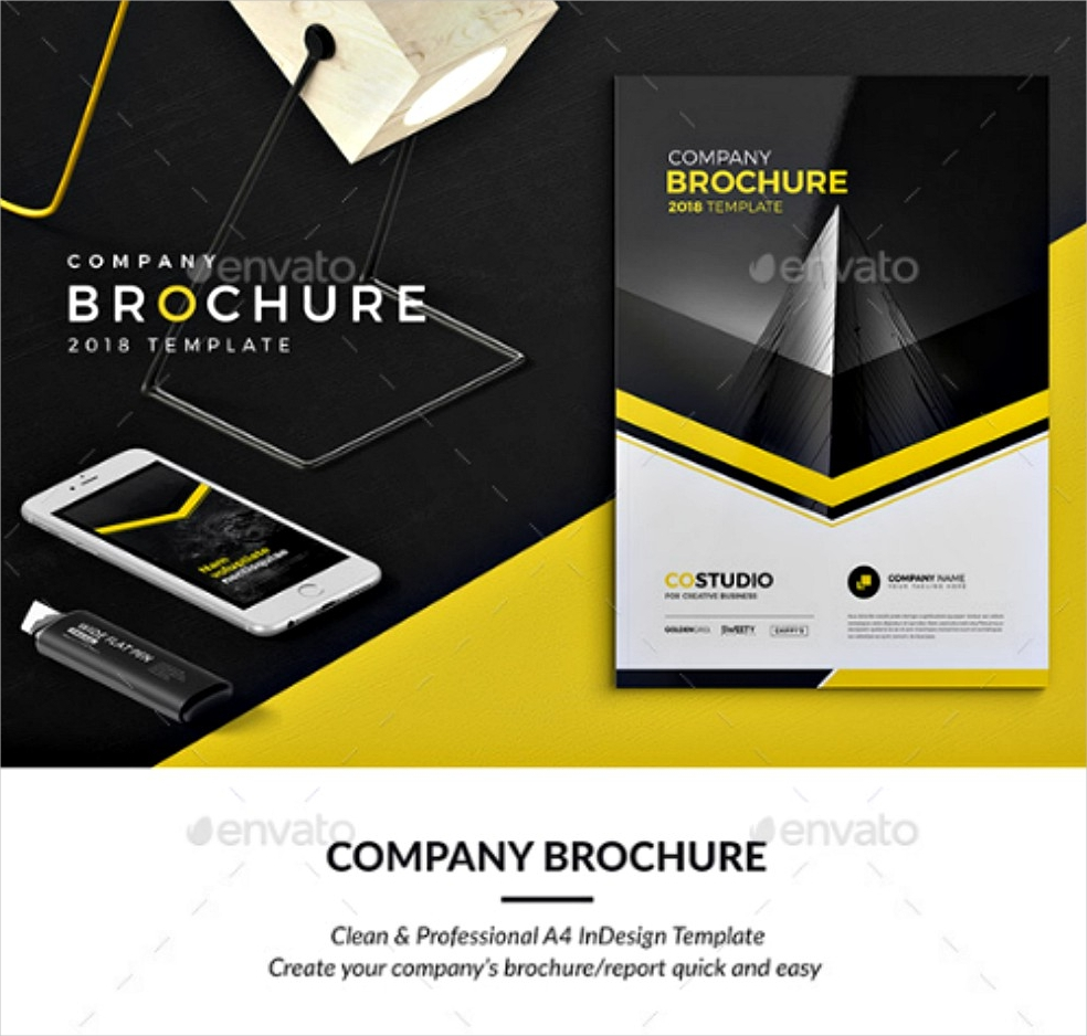 unique company brochure