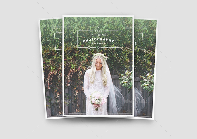 wedding photography brochure