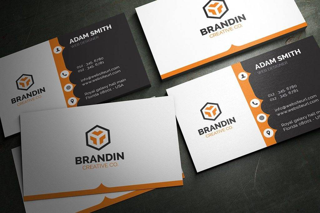 creative corporate business card  1024x681