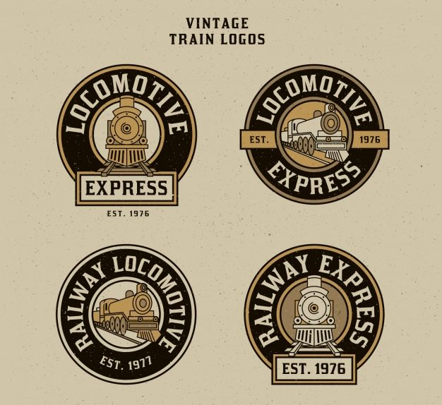 rounded vintage train logo pack e1505695108550