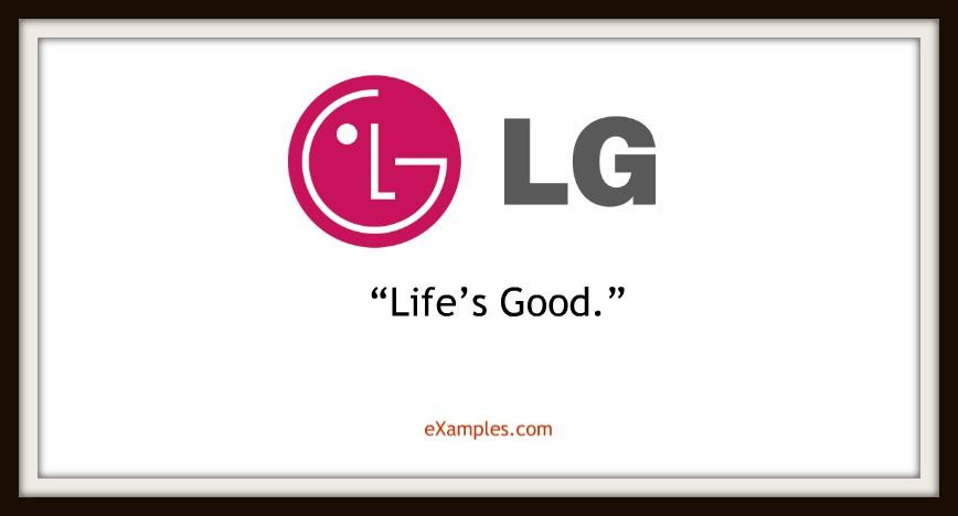 slogan lg