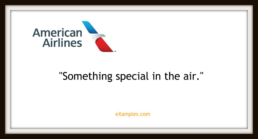 "American Airlines: ""Something special in the air"""