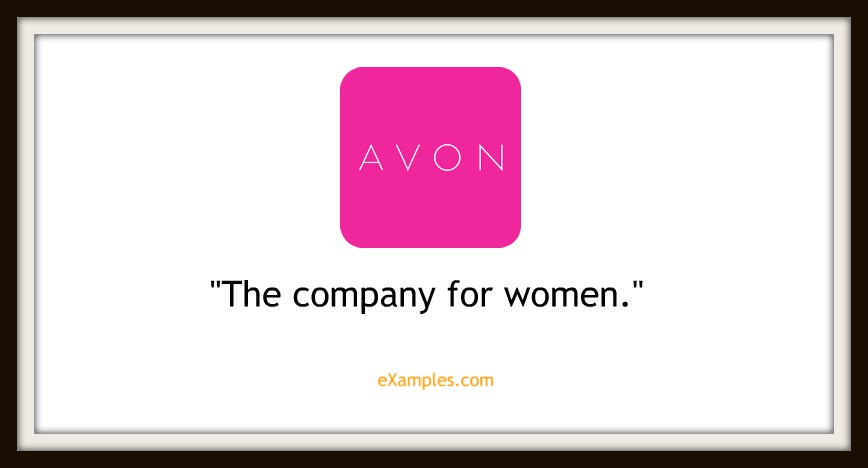 "Avon: ""The company for women"""