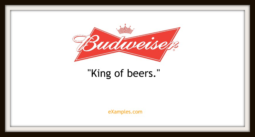 "Budweiser: ""King of beers'"