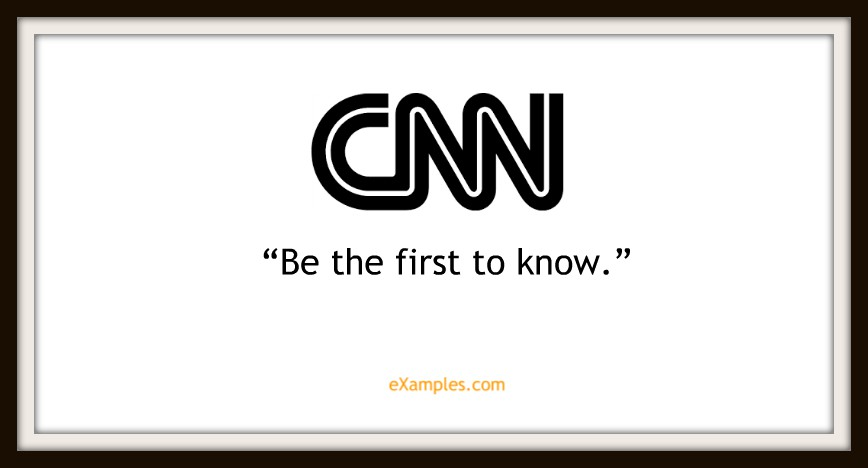 "CNN: ""Be the first to know"""
