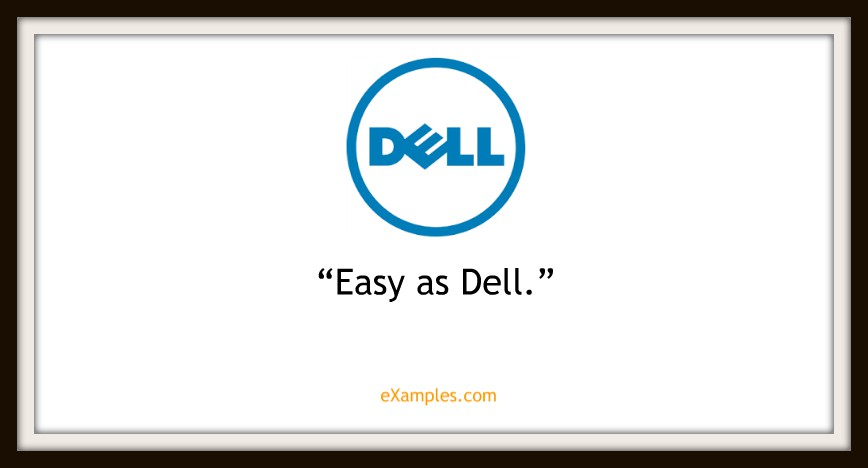 "Dell: ""Easy as Dell"""