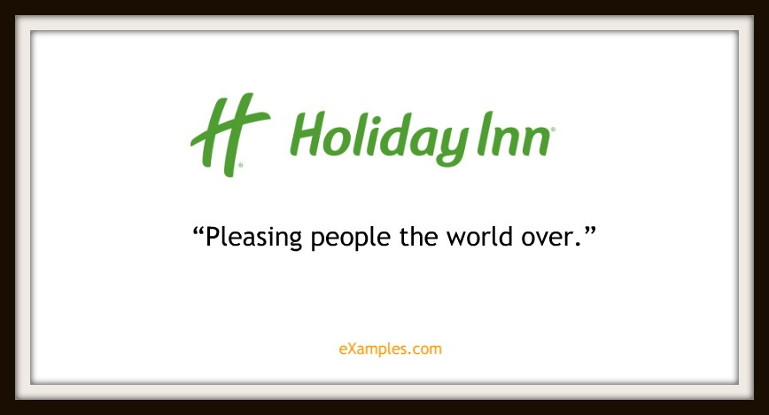 "Holiday Inn: ""Pleasing people the world over"""