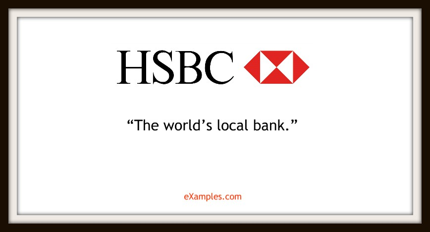 "HSBC: ""The world's local bank"""