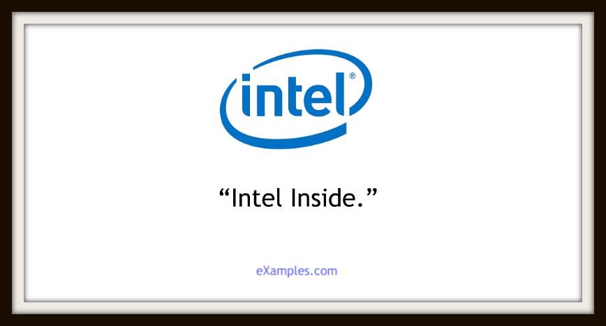 slogan intel