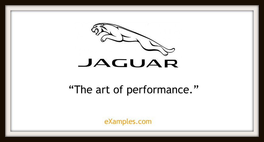 Slogan Jaguar