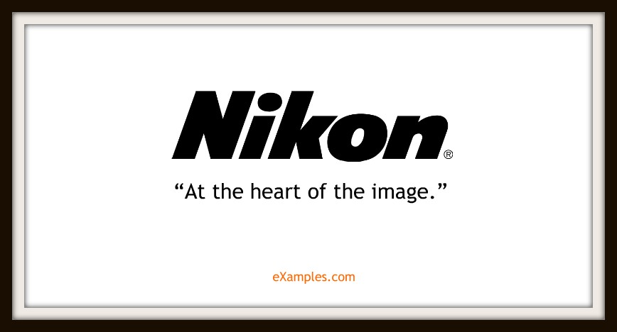 "Nikon: ""At the heart of the image."""
