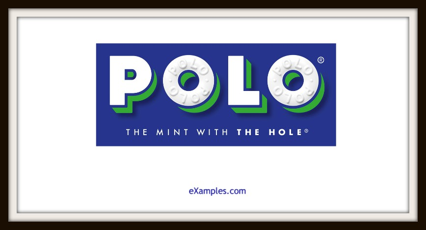 "Polo: ""The mint with the hole."""