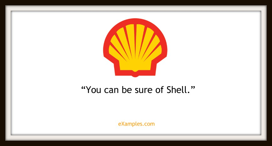 "Shell: ""You can be sure of Shell."""