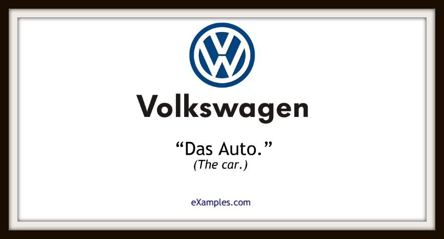 slogan volkswagen